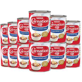 Carnation Evaporated Milk, 12 x 410g