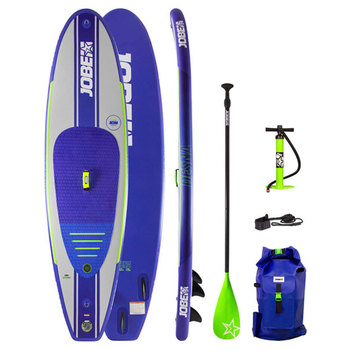 Jobe 10ft (304 cm) Desna Paddle Board with Paddle, Pump and Coiled Leash