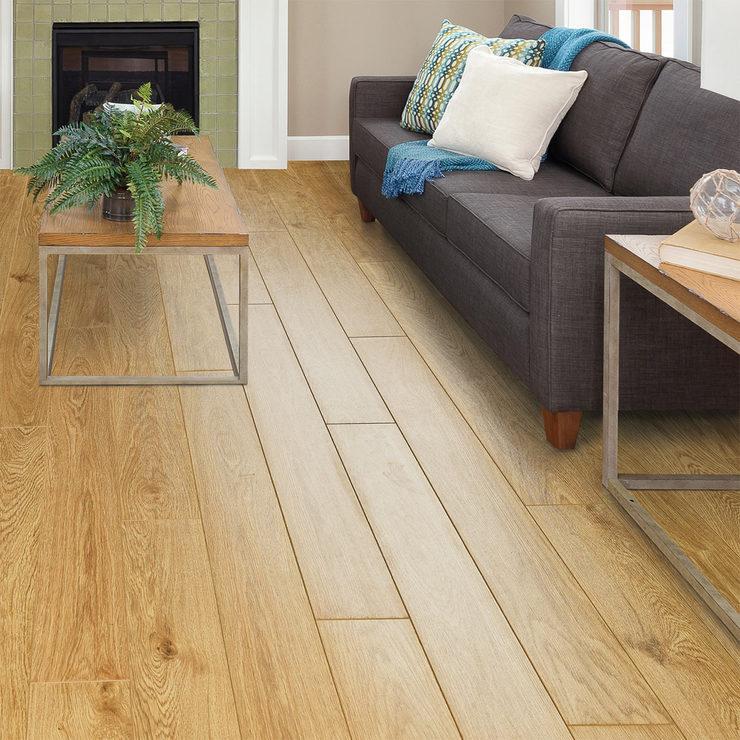 Golden Select Nottingham Oak Laminate Flooring With Foam Underlay 1 16 M Per Pack Costco Uk