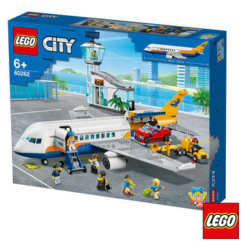 LEGO City Airport Passenger Airplane - Model 60262 (6+ Years)