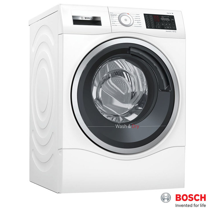 Bosch WDU28560GB, 10kg/6kg, 1400rpm Washer Dryer A+ Rating in White |  Costco UK