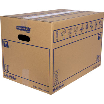 Fellowes SmoothMove™ (36 x 35.5 x 55.5cm) Standard Removal Box - Pack of 10