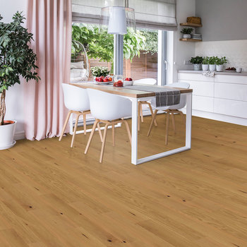Golden Select Honey (Oak) Waterproof Engineered Hardwood Plank Flooring with Foam Underlay - 1.44 m² Per Pack