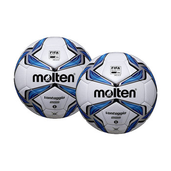 Molten ACENTEC® Vantaggio FIFA Approved Football (Size 5) - 2 Pack