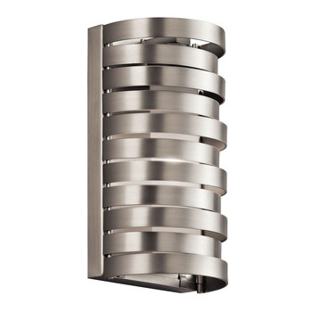 Kichler Roswell One Light Wall Light in Brushed Nickel