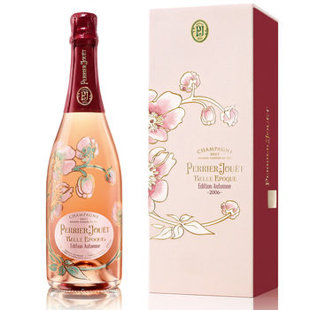 Perrier-Jouët Belle Epoque Cuvée Brut 2005 Champagne Autumn Edition, 75cl with Gift Box