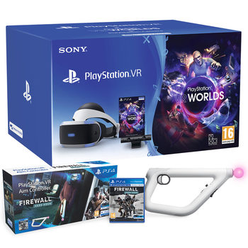 PlayStation VR Starter Kit with Firewall and Aim Controller