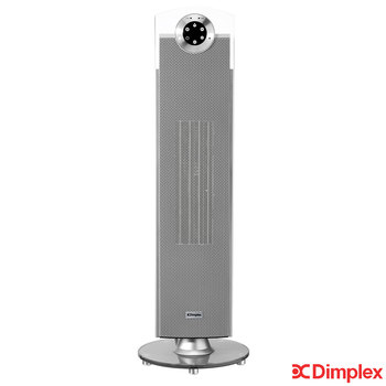 Dimplex Studio G 2.5kW Fan Heater, Grey