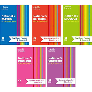 Leckie National 5 Revision & Practice Books (14 -16 Years)