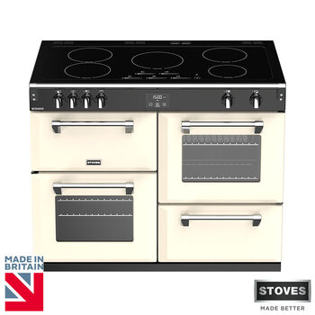 Stoves Richmond S1100Ei, 110cm Induction Range Cooker A Rating in 2 Colours