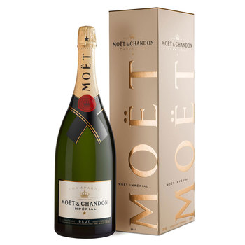 Moët & Chandon Brut Imperial NV Champagne MAGNUM, 1.5L with Gift Box
