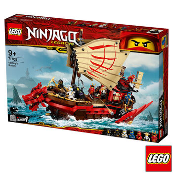 LEGO Ninjago Destiny's Bounty - Model 71705 (9+ Years)