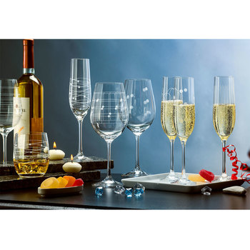 Elements Crystal Glassware 18 Piece Set