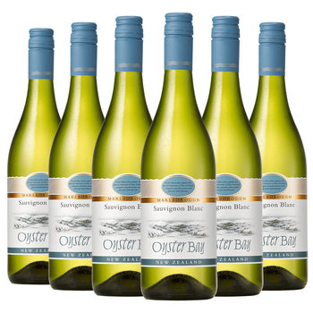 Oyster Bay Marlborough Sauvignon Blanc 2019, 6 x 75cl