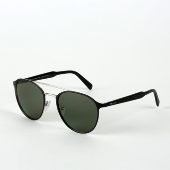 Prada Matte Black Sunglasses with Grey Lenses, 62TS 1BO-5X1