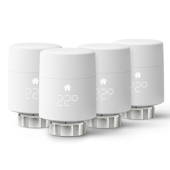 tado° Smart Radiator Thermostat, Quattro Pack