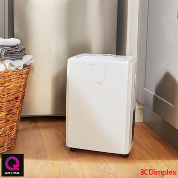 Dimplex Everdri 10L Dehumidifier, for rooms 50m² (538 ft²)