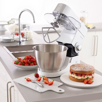 Kenwood Chef Premier Stand Mixer, 4.6L, White KMC515
