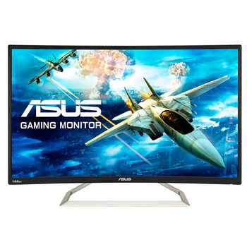 "ASUS VA326H 31.5"" Curved Full HD Gaming Monitor"