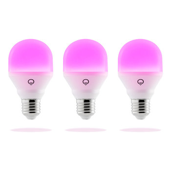 LIFX Mini Colour A60 E27 Smart Bulb 3 Pack