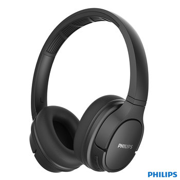 Philips ActionFit Wireless On Ear Headphones in Black, TASH402BK/00