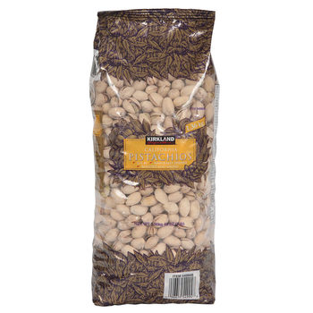 Kirkland Signature California Pistachios Roasted & Salted, 1.36kg