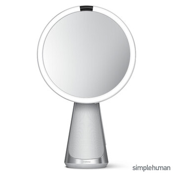 "simplehuman 8"" Hi-Fi Sensor Mirror With Integrated Speaker, ST3044"