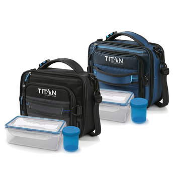 Titan Deep Freeze® Expandable Lunch Box with 2 Ice Walls® in 3 Colours