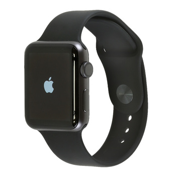 Apple Watch Series 3, Space Grey Aluminium Case with Black Sport Band, 42mm, GPS Only