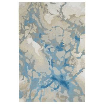 Symmetry Blue Mist Rug in 2 Colours