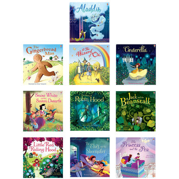 Classic Fairytales 10 Book Set (3+ Years)
