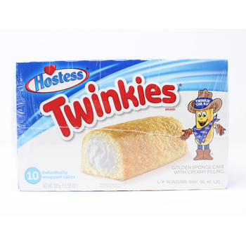 Hostess Twinkies Golden Sponge Cakes, 2 x 10 Packs