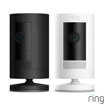 Ring Plug-In Stick Up Cam Duo Pack in 2 Colours