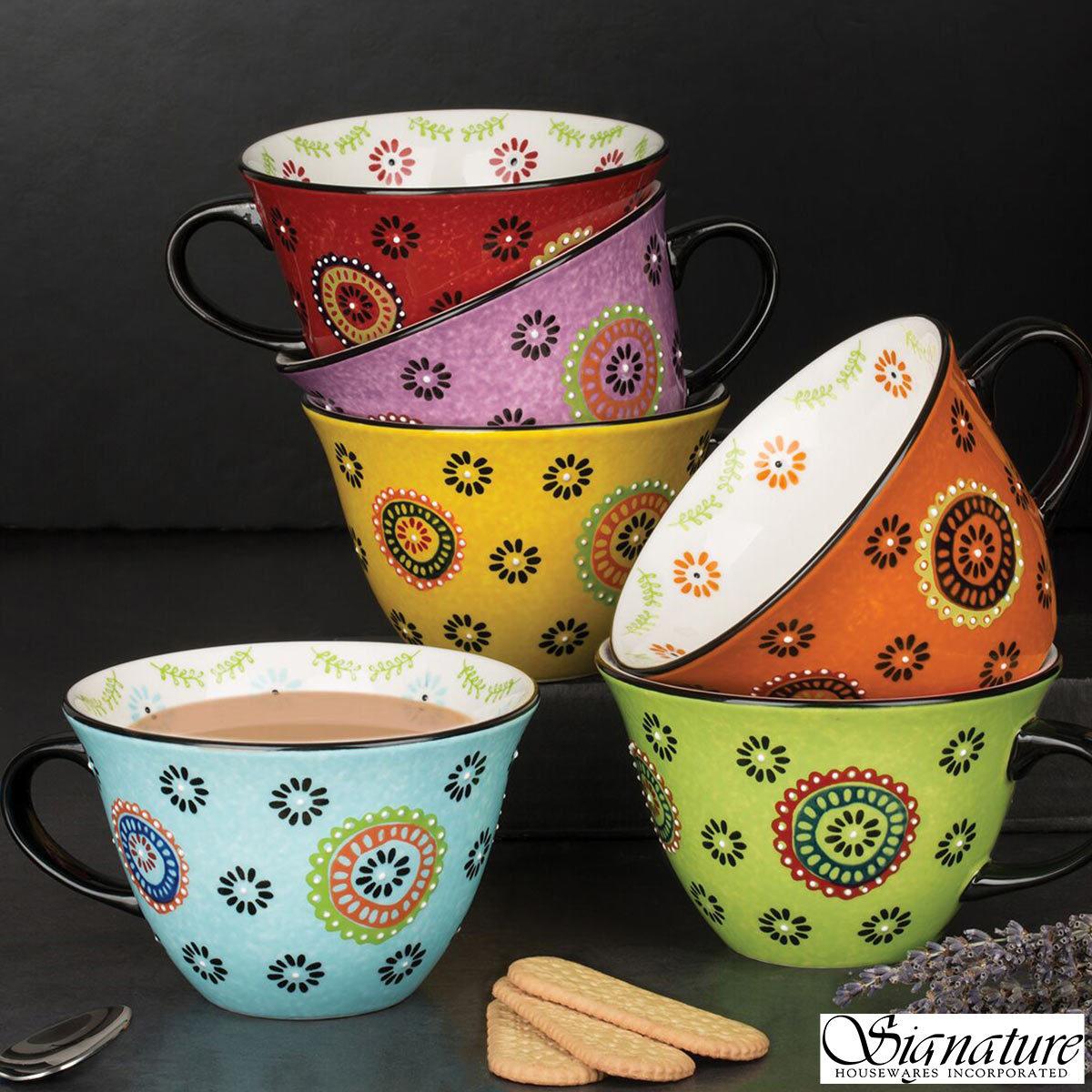 Jumbo Ceramic Mugs 6 Pack Costco Uk