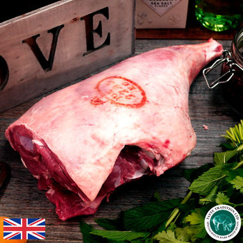 Taste Tradition Bone In Leg of Lamb, 3.8kg (Serves 10 people)