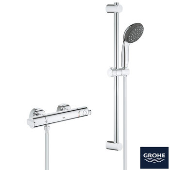 GROHE GET Thermostatic Shower Mixer - Model 34545000