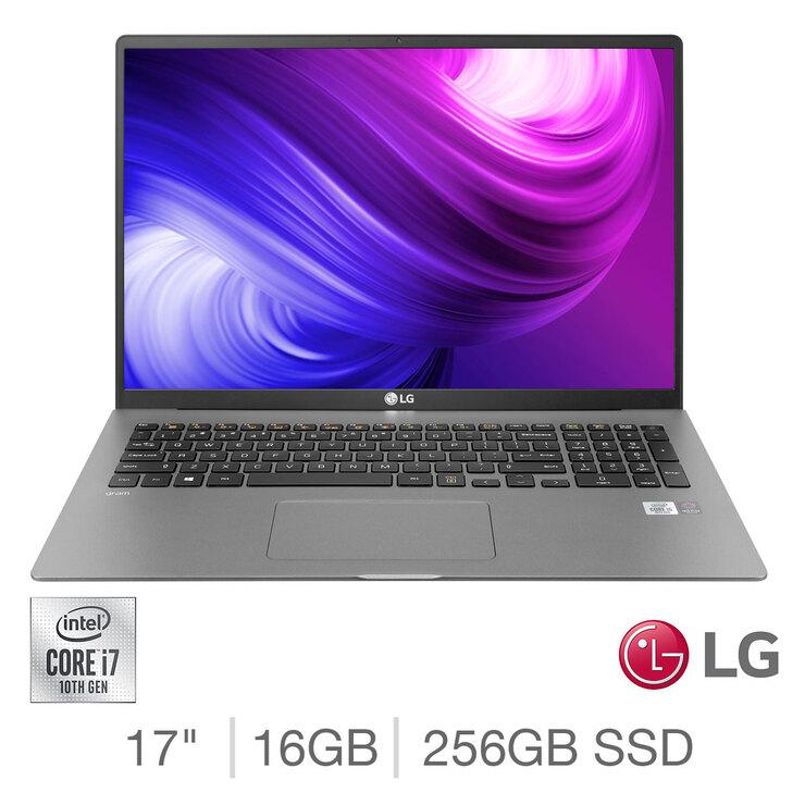 Lg Gram Intel Core I7 16gb Ram 256gb Ssd 17 Inch Ultra Lightweight Laptop 17z90n V Aa72a1 Costco Uk