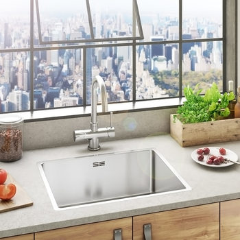 Reginox New York 50x40 Stainless Steel Sink