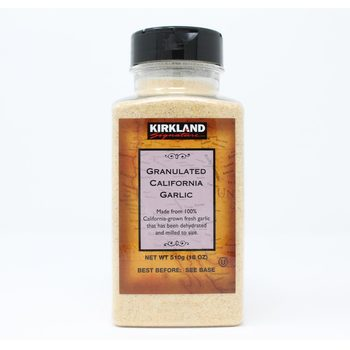 Kirkland Signature Granulated California Garlic, 510g