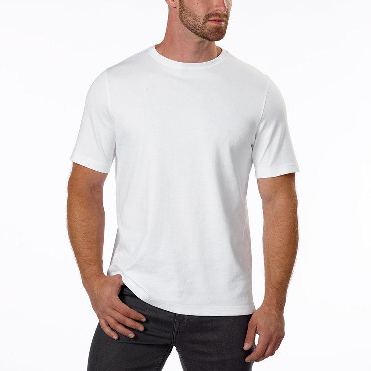 6eb5af8c7 Kirkland Signature Men's Classic T-shirt in White | Costco UK