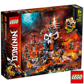 LEGO Ninjago Skull Sorcerer's Dungeon - Model 71722 (9+ Years)