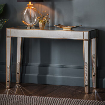 Gallery Kensington Mirrored Console Table