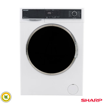 Sharp ES-HFH0148W3, 10kg, 1400rpm Washing Machine, A+++-20% Rating in White