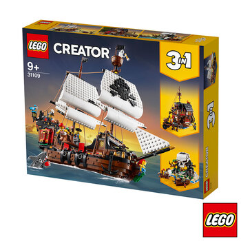 LEGO Creator Pirate Ship - Model 31109 (9+ Years)