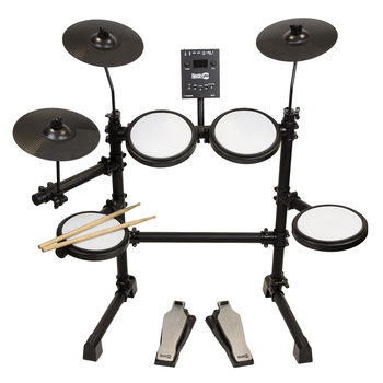 RockJam Mesh Head Electronic Drum Kit
