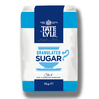Tate & Lyle Granulated Sugar, 5kg