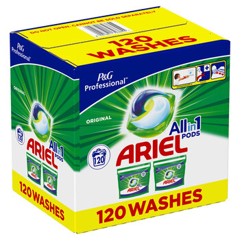 Ariel All in One Pods, 120 Count