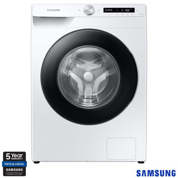 Samsung WW80T534DAW/S1, 8kg, 1400rpm, Washing Machine, A+++ Rating in White