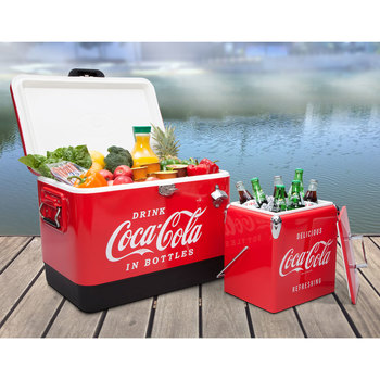 Coca-Cola Stainless Steel Ice Chest Bundle