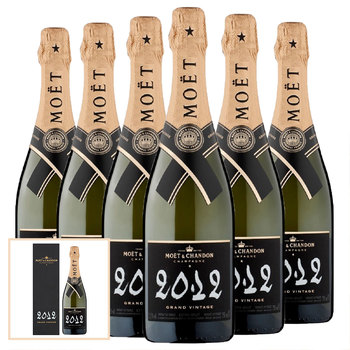 Moët & Chandon Grand Vintage Champagne 2012, 6 x 75cl